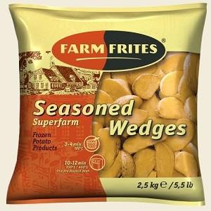 Картофельные дольки в кожуре 2,5 кг/4 - Farm Frites