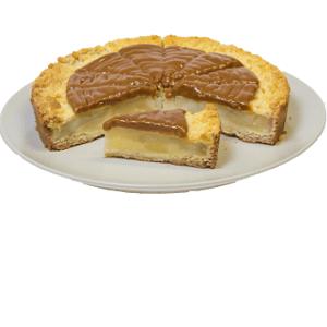 Пирог песочный Яблочный с карамелью 1,9 кг.