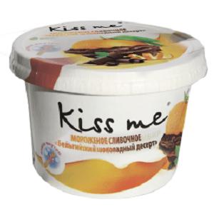 """Карт. ст. 125/12 """"Kiss me"""" сливочное """"Бельгийский шоколадный десерт"""""""