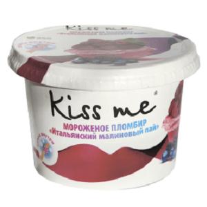 """Карт. ст. 125/12 """"Kiss me"""" пломбир """"Итальянский малиновый пай"""""""