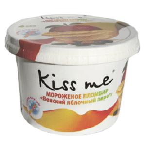 """Карт. ст. 125/12 """"Kiss me"""" пломбир """"Венский яблочный пирог"""""""