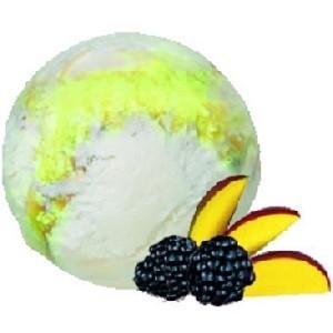 Контейнер 2200/1 пломбир йогуртовый с манго и ежевикой