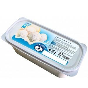 Контейнер 2200/1 мороженое с ЗМЖ ванильное