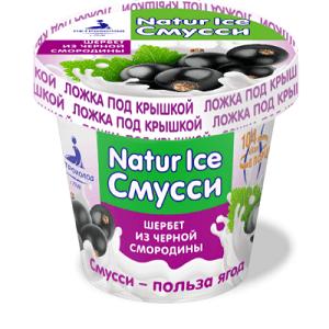 """Замороженный взбитый десерт шербет из черной смородины """"NATURICE"""" 80/36"""